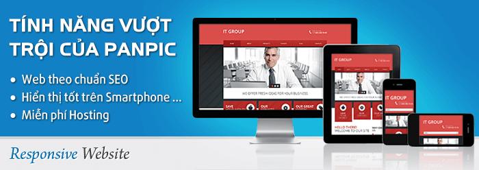 Chức năng responsive web design