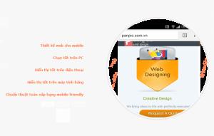 thiet ke web chuan mobile