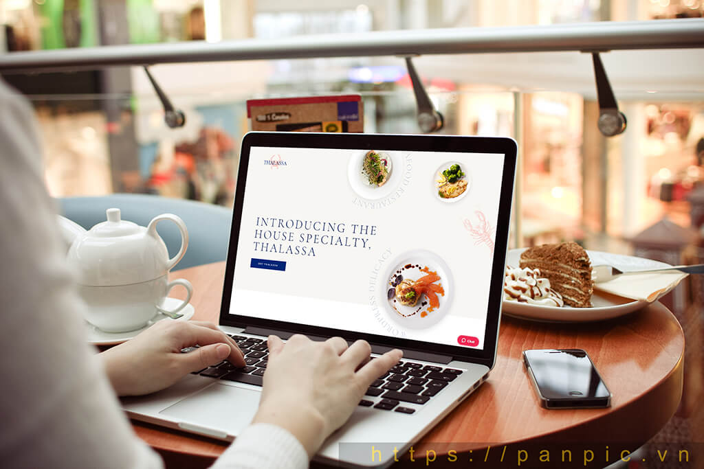 Thiết kế web thủy hải sản