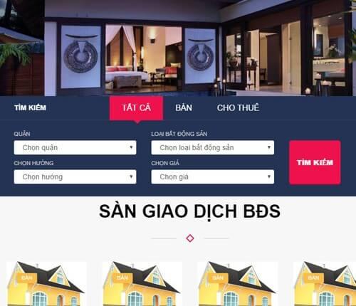 lam website bds dinhdatreal