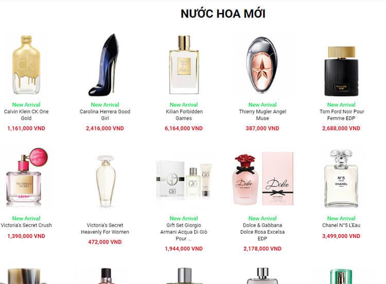 thiet ke website ban nuoc hoa