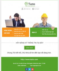 thiet ke email template
