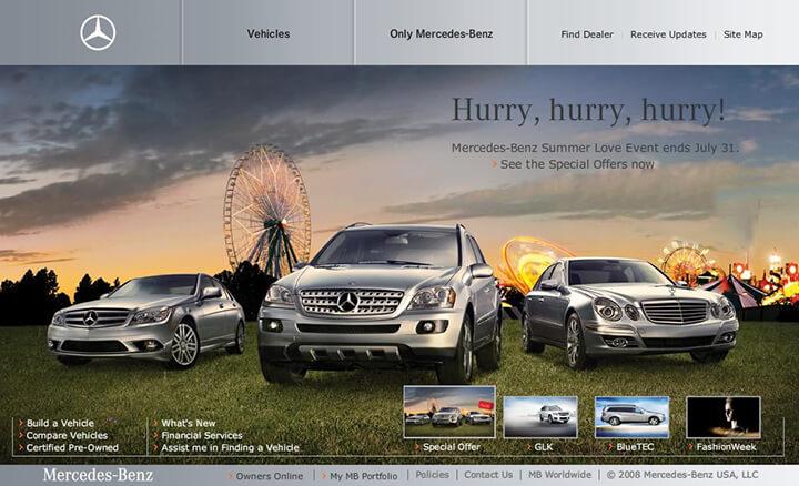 Mẫu template webiste showroom ôtô
