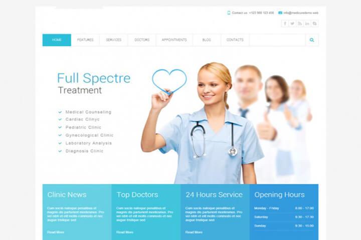 website-benh-vien