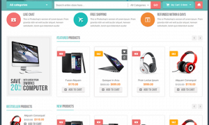 thiết kế web bán hàng công nghệ điện thoại