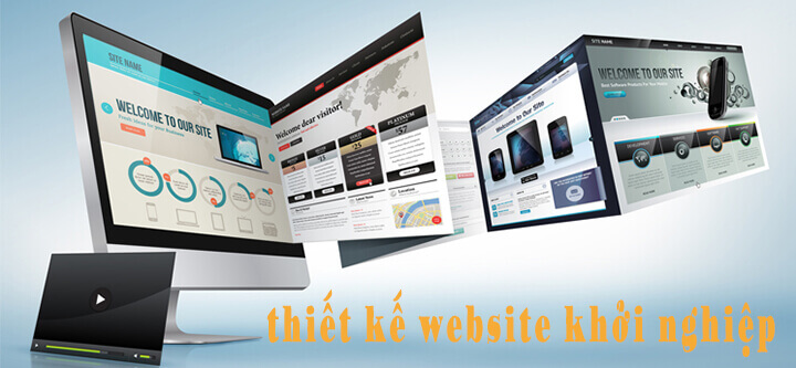 thiết kế website khởi nghiệp