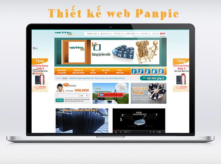 thiết kế website thương hiệu đẳng cấp