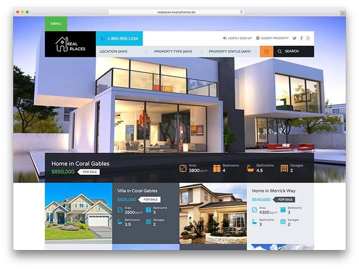 làm website dự án bất động sản