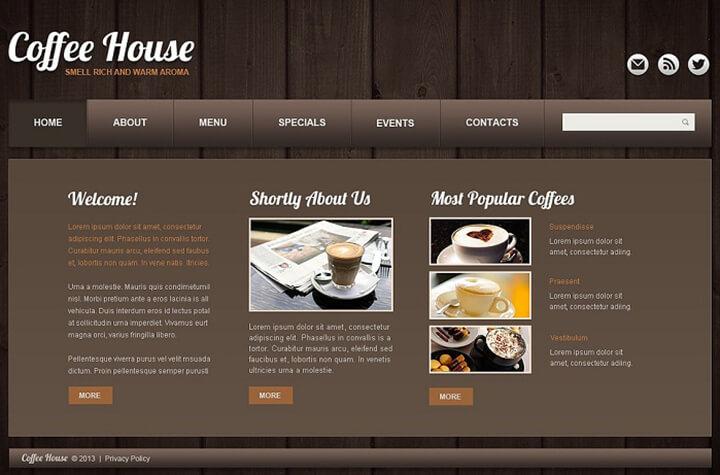 làm website quán cafe