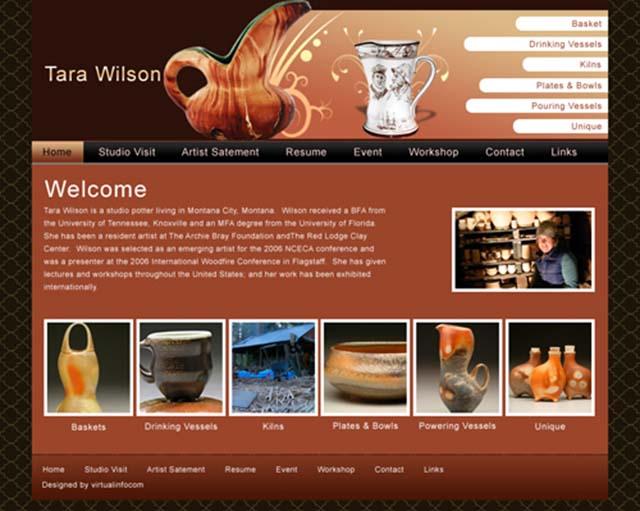 thiết kế web công ty gốm sứ