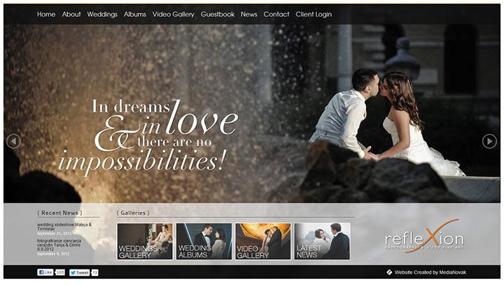 làm website chụp ảnh cưới
