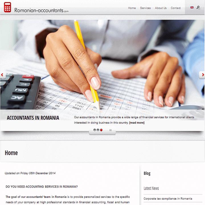 làm website công ty kế toán