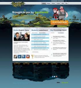 làm website game online