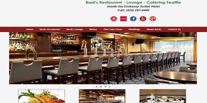 thiết kế web nhà hàng tiệc cưới