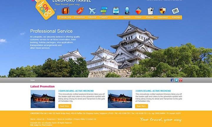 làm website công ty du lịch