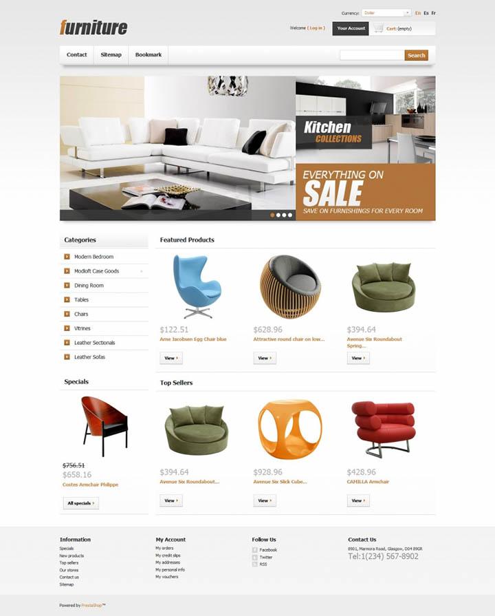 làm website bán đồ nội thất