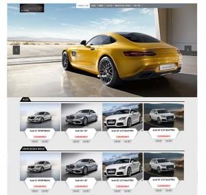 thiết kế website bán ô tô, xe tải