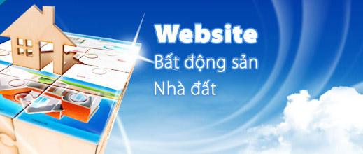 thiết kế web bất động sản