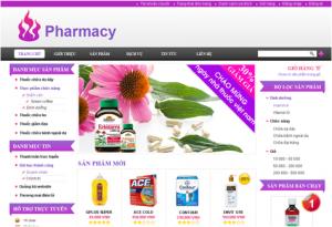 làm website dược phẩm