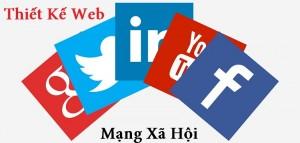 thiết kế web mạng xã hội