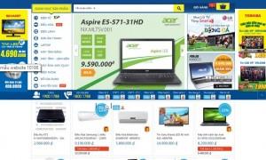 thiết kế website công ty điện lạnh, điện tử