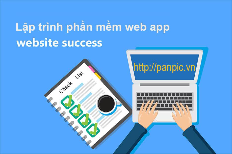 lập trình phần mềm web app