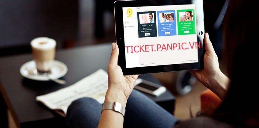 hệ thống hỗ trợ ticket panpic