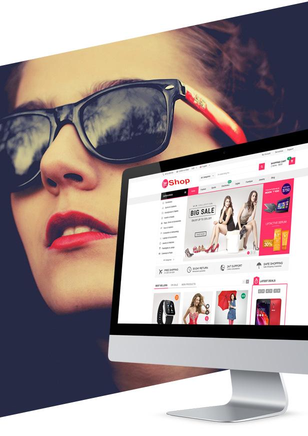 thiết kế website shop bán hàng online