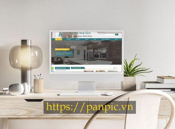 Panpic thiết kế web nội thất